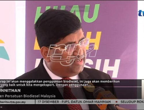 Mr Unnithan's interview by TV1 on B10 Launch